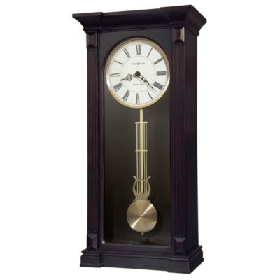 MIA WORN BLACK WALL CLOCK